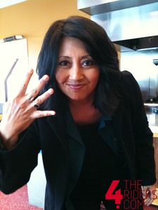 tina from good day sacramento showin some 4 love!