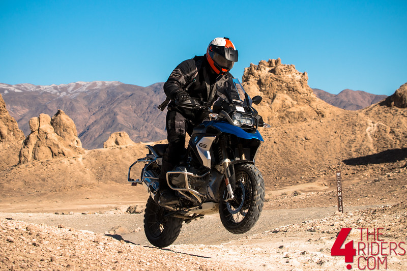 bmw gs 1250 trona pinnacles