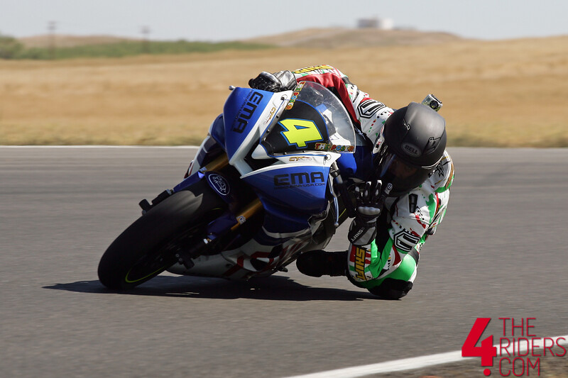 josh herrin riding the fail bike at thunderhill