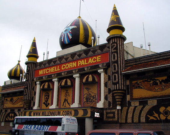 The Corn Palace, Mitchell, SD.  Millennium Edition.