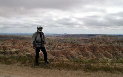 Some guy named Dan who was supposed to email his pics to us, but never did  Badlands, July 2000
