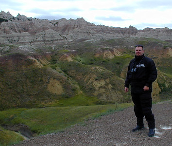 jason, Badlands National Park, SD