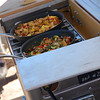 """Close up of delectible Gureghian delights cooking atop Kanz Outdoors' field kitchen,  <a href=""""http://www.kanzoutdoors.com"""">http://www.kanzoutdoors.com</a> ."""