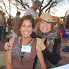 Nicole shares a good laugh with awesome adventure chickee mama, Carla King.