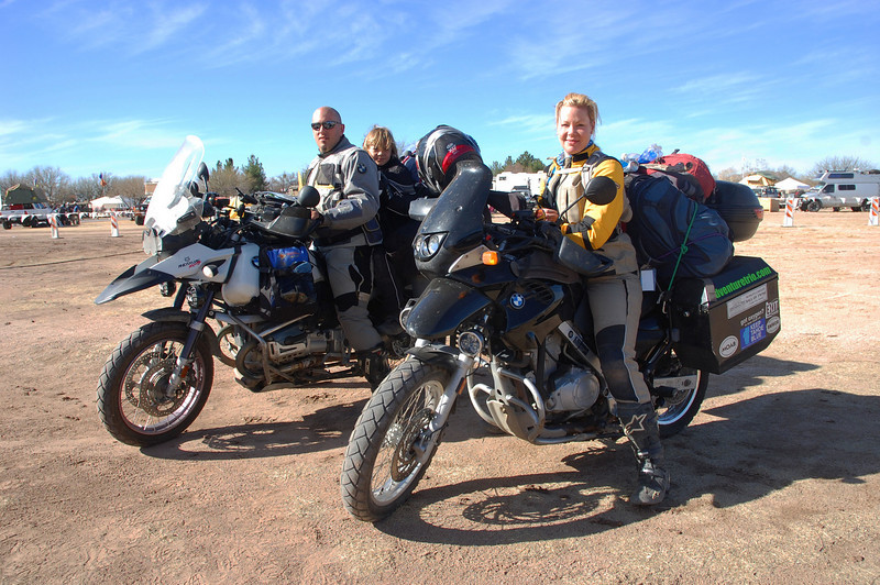Adventure Trio, Terry, Jack and Sandy. The most awesome riding family ever!!!