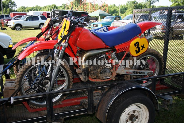 Vintage Motorcycle Races Pine Bluff MX