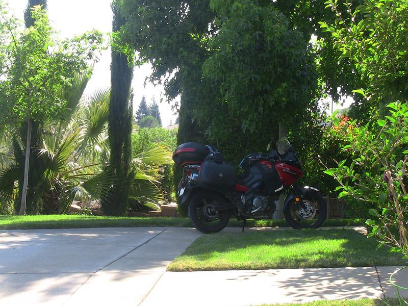 Parked at Mimi's in El Dorado Hills