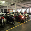 The Ducati Pacifica contingent up from Portland to escort Paolo