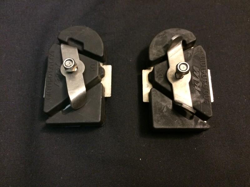 KTM Stock Rubber Footrest Inserts