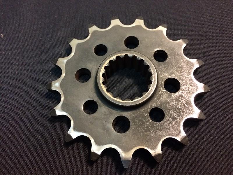 KTM steel 17 tooth front sprocket
