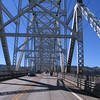Crossing the Longview bridge into Oregon