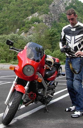 Photos of Me on My Bike