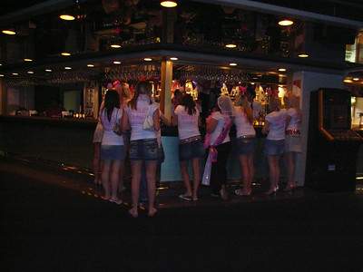 The obligatory Hen party