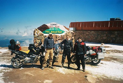 Pikes Peak ,Kebler Pass, Cottonwood Pass. 8/26/04