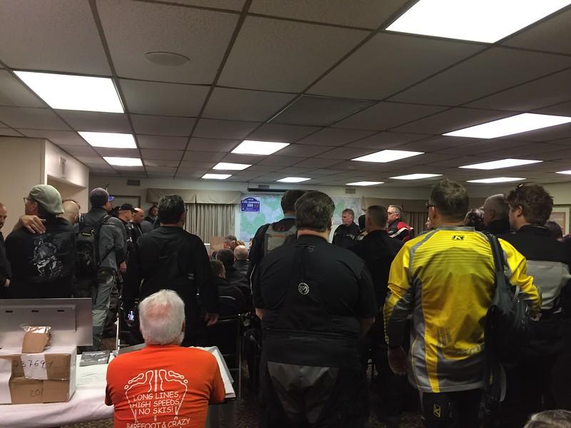 PB500 Friday Riders Meeting
