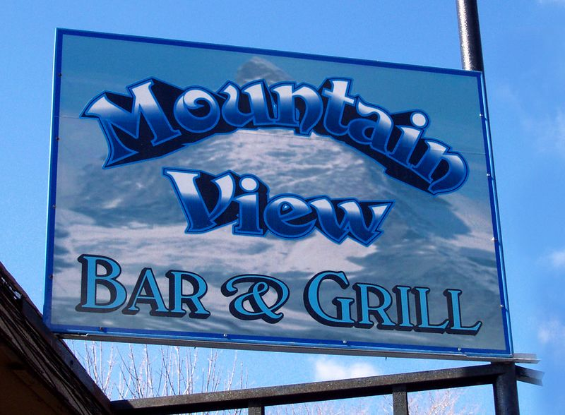 This week's ride was the Mountainview Bar & Grill