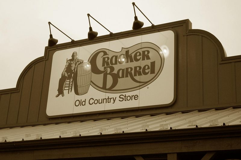 The ride this week started at 7:00 am at Cracker Barrel on Route 73S. Kickstands up at 8:00