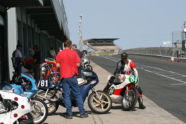 Post Classic Racing Round 5 Club Champioships Practice 28.9.08