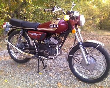1977 Yamaha RD125