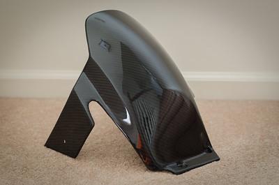 Lacomoto Carbon Fiber WSBK Rear Hugger II