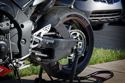 Lacomoto Swing Arm Covers and WSBK Rear Hugger