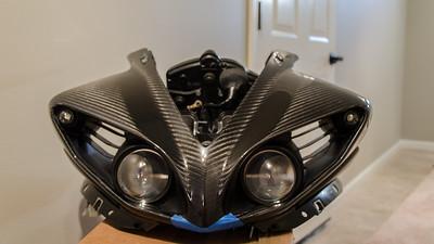 1carbontech Carbon Fiber Front Cowl VI