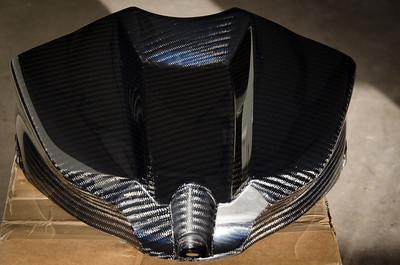 1carbontech Carbon Fiber Tank Cover I