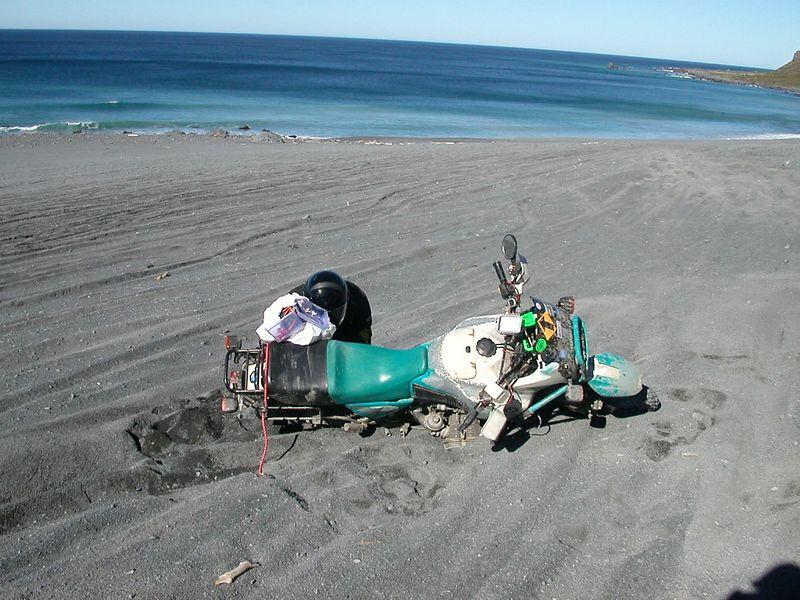Soft Sand + GSPD = Lie down
