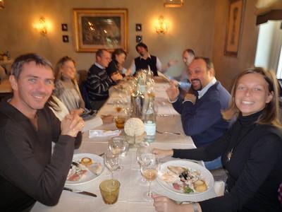 QDE: pranzo Tram 16.11.2008