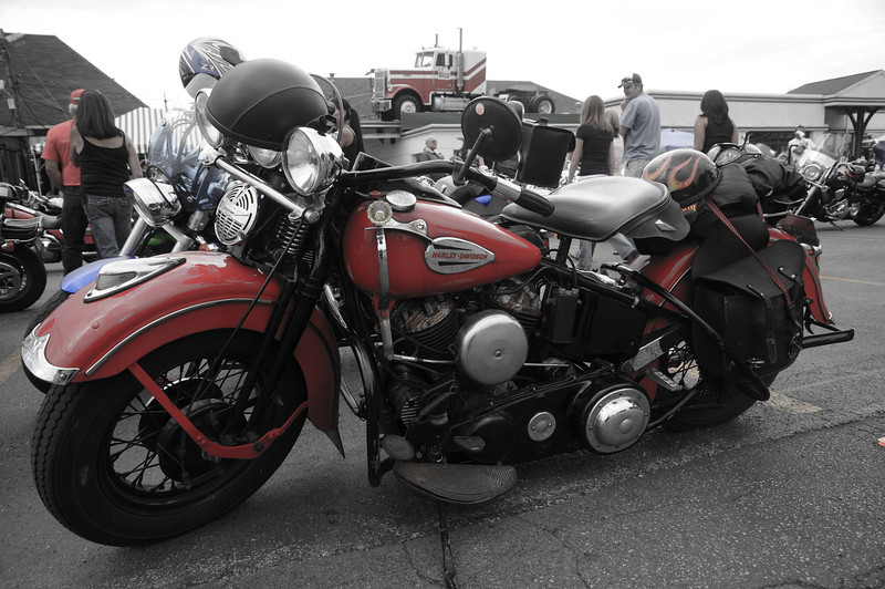 Old Red Harley