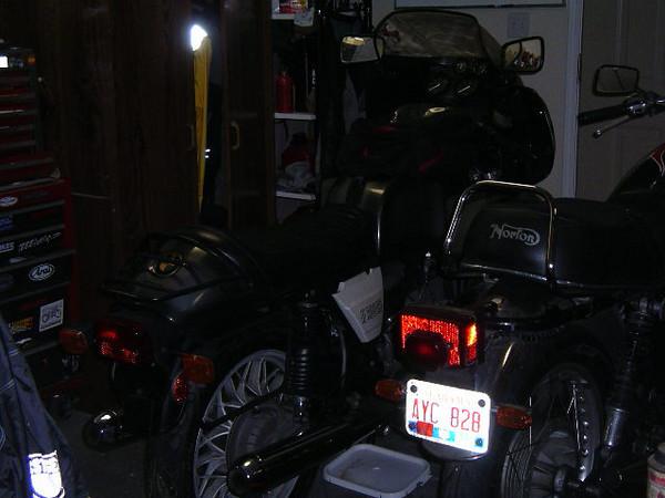 1 st night in the garage
