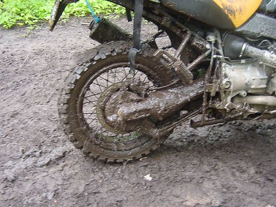 Mud on Ilya's GS