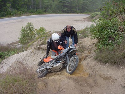 """21. Steep sandy hill - """"Man down! Man down!"""""""