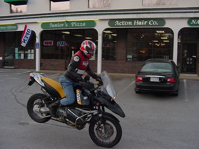 Stoppying BMW R1150GS Adventure
