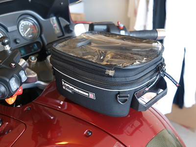 Marsee Corona tank bag mounted