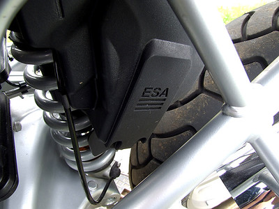 BMW R1200GS ESA (Electronic Suspension Adjustment system)