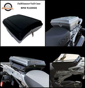 GSessories TailGunner Tail / Top Case for BMW R1200GS & R1200GSA motorcycles Available in a variety of colours/finishes:  More Info