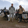 "The infamous pair again - Long Way Down - Ewan McGregor and Charley Boorman on their BMW R 1200 GS (07/2007)<br />  <a href=""http://www.longwaydown.com/"">http://www.longwaydown.com/</a>"