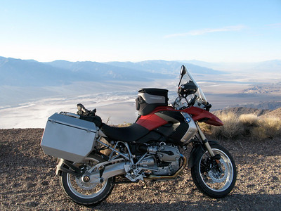 Neil Peart's BMW R1200GS