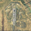 Thunderhill race circuit (California, USA) - Google earth creenshot.
