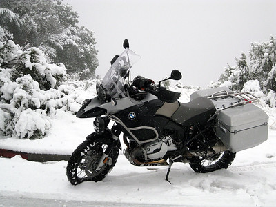 Photo by 'darooster' (ADVRider.com) - ....another day commuting to work!!,, 2007 R1200GS Adventure, Boulder Creek, CA