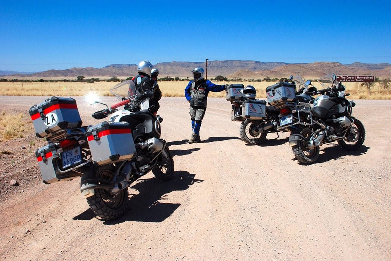 """Photo by Gillian Hine - <a href=""""http://www.unicornpictures.ifp3.com"""">http://www.unicornpictures.ifp3.com</a><br /> GS Adventure - Amazing gravel roads in Namibia, South Africa<br />  <a href=""""http://www.gsadventures.co.za"""">http://www.gsadventures.co.za</a>"""