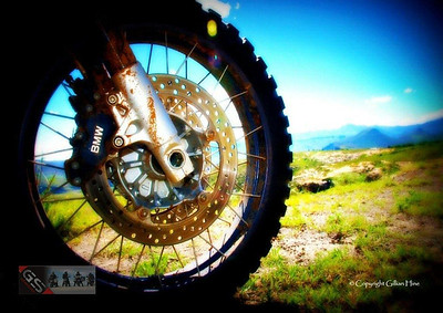 Another one from Gillian....this one is Photoshoped ;-) R1200GS African Scenery by Gillian Hine. GS Adventures motorcycle tours's - http://www.facebook.com/GSbike