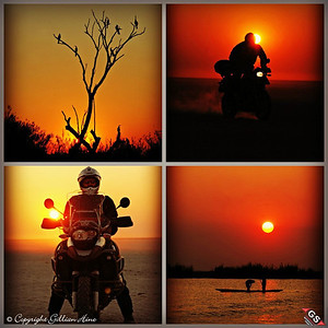And another one from Gillian....R1200GS African Sunsets by Gillian Hine. GS Adventures motorcycle tours's - http://www.facebook.com/GSbike