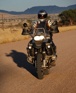 Photo by Gillian Hine - http://www.unicornpictures.ifp3.com Female R1200GS Adventure rider, South Africa http://www.gsadventures.co.za