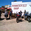 "Hmmmm....loitering with intent?! lol Photo by Gillian Hine - GS Adventures motorcycle tours's - http://www.facebook.com/GSbike <i>Route 62 is South Africa's version of the famous American Route 66. Visit the Famous ""Ronnies Sex Shop"", it really is a must do on Route 62.</i>"