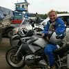 """R1200GS owner Hana. Hana is a tour guide for www.motoadventours.com in Spain.........""""<i>yes, I know, I´ve got the best job in the world......Everytime I sit on the bike and off we go, I realize again and again how lucky I am!</i>"""""""