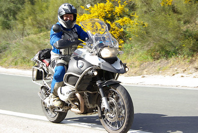 Looks like there might be a big smile under that helmet - I think Han likes her new R1200GSA! :-) www.motoadventours.com