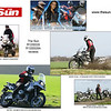"You might remember Janie Omorogbe as Rio in the TV show Gladiators - she writes for The Sun's biking section and has reviewed the R1200GS and R1200GSA:  <a href=""http://www.thesun.co.uk"">http://www.thesun.co.uk</a><br /> Check out the Journalism and Gallery pages on her website for lots of two wheeled action photos:<br />  <a href=""http://www.rio-gladiator.co.uk/"">http://www.rio-gladiator.co.uk/</a>"