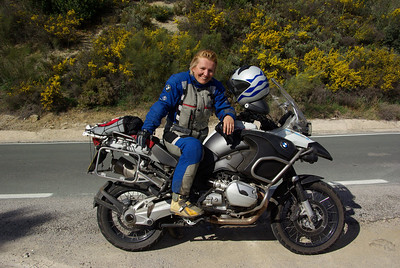 Update - Hana's sold her R1200GS and now has an R1200GS Adventure! www.motoadventours.com